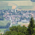 Cheserex seen from the top
