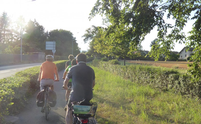 Exploring Geneva at 30 kilometres per hour