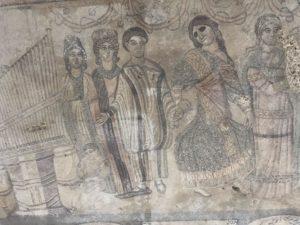Roman Mosaic in Central Spain